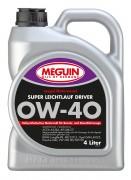 Моторное масло Meguin megol Motorenoel Super Leichtlauf Driver 0w-40