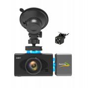 Автомобильный видеорегистратор Aspiring Alibi 9 (CD1MP20GAL9) c GPS, SpeedCam, двумя дополнительными камерами (магнитное крепление)