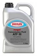 Минеральная жидкость для АКПП и ГУР Meguin megol Transmission Fluid ATF III