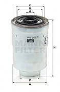 Топливный фильтр MANN WK940/11X