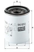 MANN Топливный фильтр MANN WK923/2X