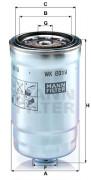MANN Топливный фильтр MANN WK8019