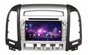 Штатная магнитола Gazer CM6007-CM для Hyundai Santa Fe (CM) 2006-2012 (Android 8.0)