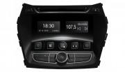 Штатная магнитола Gazer CM6008-DM для Hyundai Santa Fe (DM) 2012-2016 (Android 8.0)