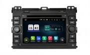 Штатная магнитола Incar TSA-2283 для Toyota Land Cruiser Prado 120 (2002-2009) Android 8+