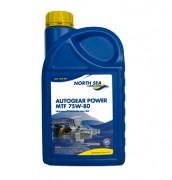 Синтетическое трансмиссионное масло North Sea Autogear Power MTF 75w-80