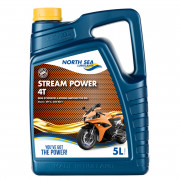 Мотоциклетна моторна олива North Sea Stream Power 4T
