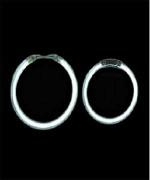 Белые ангельские глазки Galaxy 2.5' (65мм)