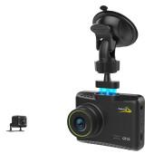 Автомобильный видеорегистратор Aspiring GT21 Dual FHD (CD20HF7PR7) с дополнительной камерой (магнитное крепление)