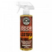 Нейтрализатор запахов с антибактериальным эффектом Chemical Guys Extreme Offensive Odor Eliminator & Air Freshener Leather Scent (473мл)