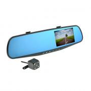 Зеркало заднего вида с монитором, HD видеорегистратором и дополнительной камерой Nextone MR-12
