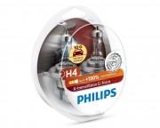 Комплект галогенных ламп Philips X-tremeVision G-force 12342XVGS2 +130% (H4)