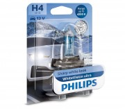 Лампа галогенная Philips WhiteVision ultra 12342WVUB1 (H4)