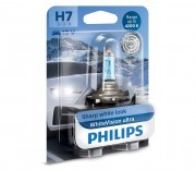 Лампа галогенная Philips WhiteVision ultra 12972WVUB1 (H7)