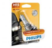 Лампа галогенная Philips Vision 12580B1 (H15)