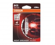 Лампа галогенная Osram Night Breaker Silver 64150 NBS-01B +100% (H1)