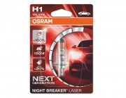 Лампа галогенная Osram Night Breaker Laser Next Generation 64150 NL-01B +150% (H1)