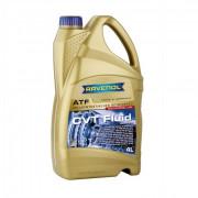 Синтетическое трансмиссионное масло для бесступенчатых коробок передач (вариаторов) Ravenol CVT Fluid