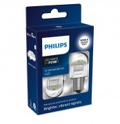 Комплект светодиодов Philips X-tremeUltinon LED gen2 (P21W / BA15S) 11498XUWX2, 11498XURX2