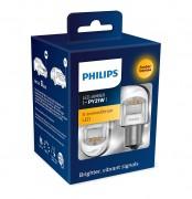 Комплект светодиодов Philips X-tremeUltinon LED gen2 (PY21W / BA15S) 11498XUAXM + CANbus