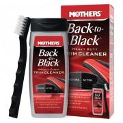 Mothers Набор для восстановления темного пластика + щетка Mothers Back to Black Heavy Duty Trim Cleaner MS06141 (355мл)