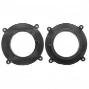 Комплект подиумов / проставок для динамиков Carav 14-010 в передние двери Mazda 6, Atenza, CX-5 2012+