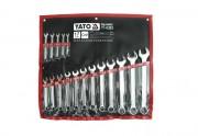 Набор рожково-накидных ключей Yato YT-0363 (17 шт)