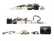 Адаптер для подключения кнопок на руле, штатных разъемов AUX, USB, камеры заднего вида Connects2 CTSTY008.2 (Toyota)