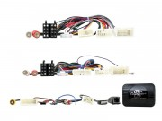 Адаптер для подключения кнопок на руле, штатного усилителя, разъемов AUX, USB, камеры заднего вида Connects2 CTSTY009.2 (Toyota)