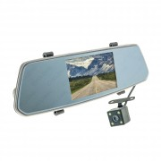 Зеркало заднего вида с монитором, видеорегистратором и камерой заднего вида Cyclone MR-51