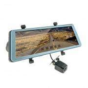 Зеркало заднего вида с монитором, видеорегистратором и камерой заднего вида Cyclone MR-90