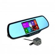 Зеркало заднего вида Cyclone MR-110 AND v2 с монитором, видеорегистратором, Wi-Fi, Bluetooth, GPS и камерой (Android 4.4)