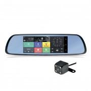 Зеркало заднего вида Cyclone MR-220 AND 3G с монитором, видеорегистратором, Wi-Fi, 3G, Bluetooth, GPS и камерой (Android 5.0)