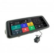 Зеркало заднего вида Cyclone MR-225 AND 3G с монитором, видеорегистратором, Wi-Fi, 3G, Bluetooth, GPS и камерой (Android 5.0)