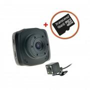 Автомобильный видеорегистратор Cyclon DVH-45 + карта памяти Transcend 16 Gb class 10