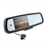 Штатное зеркало заднего вида с монитором, видеорегистратором и камерой заднего вида Cyclone MR-251