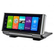 Автомобильный видеорегистратор с Wi-Fi, GPS, дополнительной камерой заднего вида и магнитным креплением Celsior DVR TAB 7 (Android 8.1)