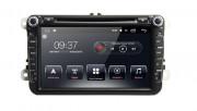 Штатная магнитола AudioSources T90-810A для Skoda Fabia, Roomster, Spaceback, Octavia A5, Rapid, SuperB, Yeti (Android 7.1.0)