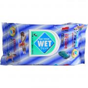 Пропитанные салфетки для очистки салона авто и рук Soft99 Car Tissue Wet 04126