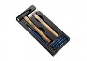 Набор инструментов Expert E150802 (молотки, зубило, выколотки, керн)