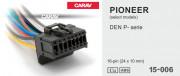 Разъем Carav 15-006 для подключения магнитолы Pioneer (без ISO)