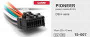 Разъем Carav 15-007 для подключения магнитолы Pioneer (без ISO)