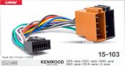 Разъем Carav 15-103 для подключения магнитолы Kenwood / JVC