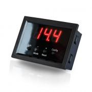 Цифровой автомобильный вольтметр с функцией защиты Kicx Quick Voltmeter-2 (врезной)