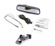 Штатное зеркало заднего вида с монитором и видеорегистратором Phantom RMS-431 DVR Full HD-2 для Honda, Mazda, Subaru, Suzuki