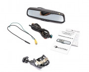 Штатное зеркало заднего вида с монитором и видеорегистратором Phantom RMS-431 DVR Full HD-27 для Volkswagen, Skoda