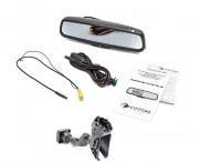 Штатное зеркало заднего вида с монитором и видеорегистратором Phantom RMS-431 DVR Full HD-48 для Ford, Volvo