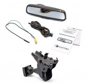 Штатное зеркало заднего вида с монитором и видеорегистратором Phantom RMS-431 DVR Full HD-22 для Audi