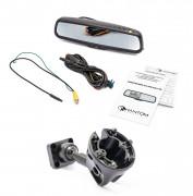 Штатное зеркало заднего вида с монитором и видеорегистратором Phantom RMS-431 DVR Full HD-30 для Porsche