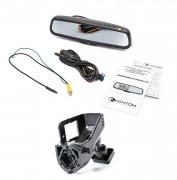 Штатное зеркало заднего вида с монитором и видеорегистратором Phantom RMS-431 DVR Full HD-36 для Volvo